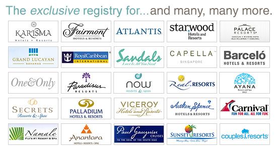 Honeymoon Registry | Wedding Gift Registry | Bridal Registry