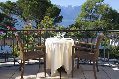 Contribution towards Dining at La Terrasse du Petit Palais